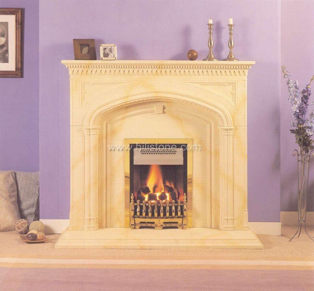 Fireplace mantel 14