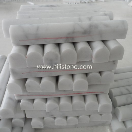 Carrara Bianco Marble Polished Border