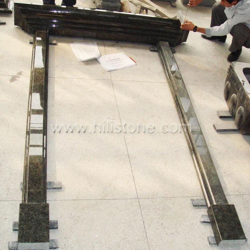 Granite China Green Door Sill - Straight