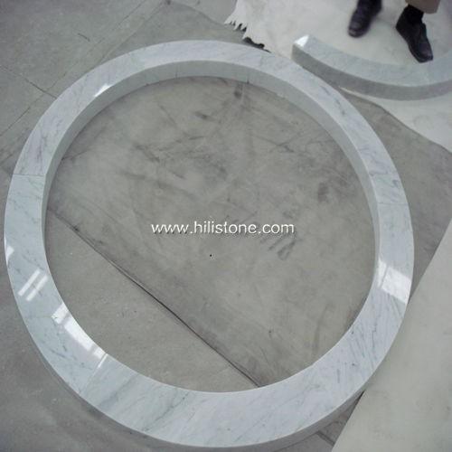 Carrara Bianco Marble Polished Ring