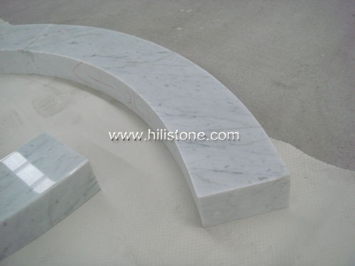 Carrara Bianco Marble Polished Ring