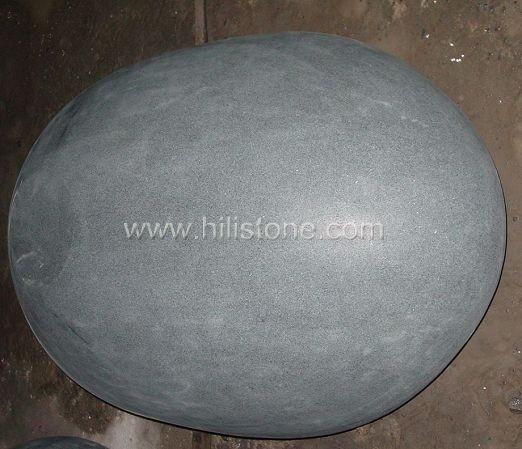 G654 Blue Black Granite Honed Pier Cap