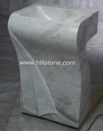 Marble Polished Sculpture