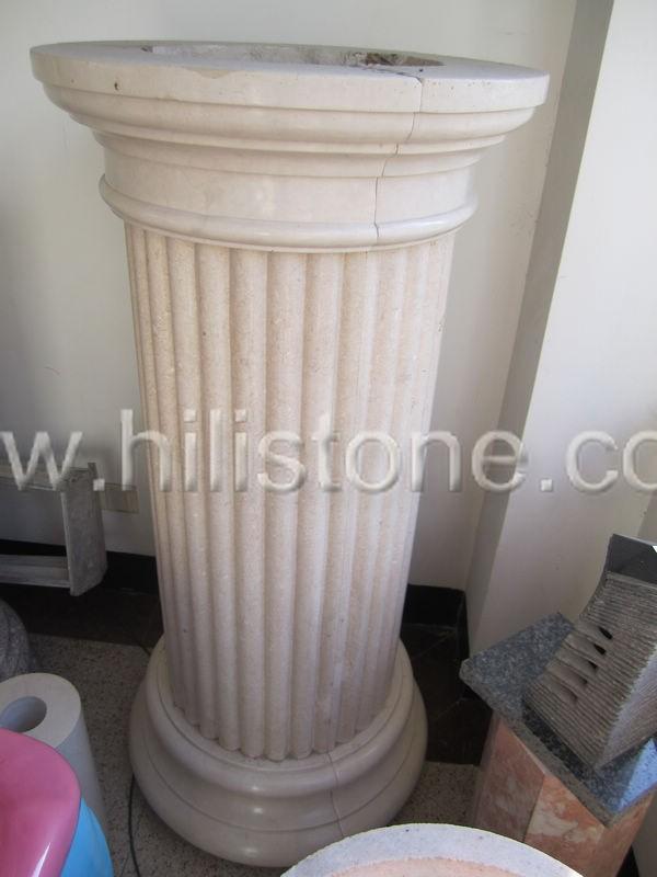 Marble Column Beige