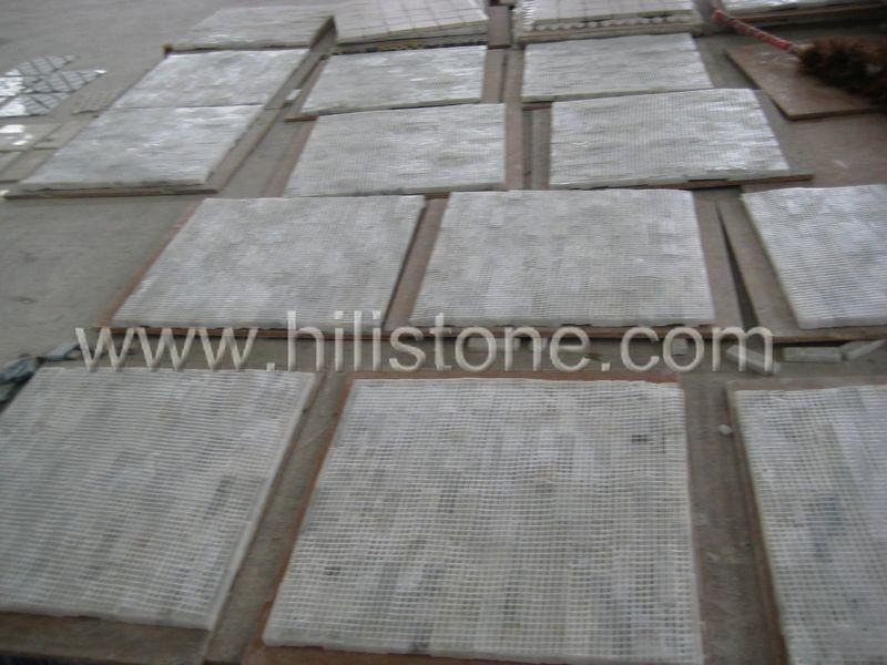 Marble Mosaic Tile MS14 Split surface brickbone