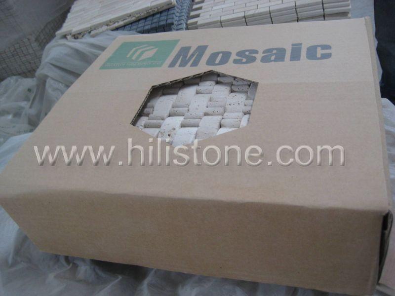 Marble Mosaic Tile MS2 Split surface brickbone