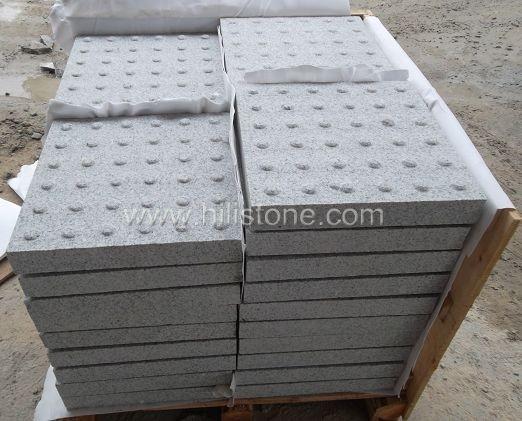 G603 Granite Sandblasted Tactile Paving-Blister