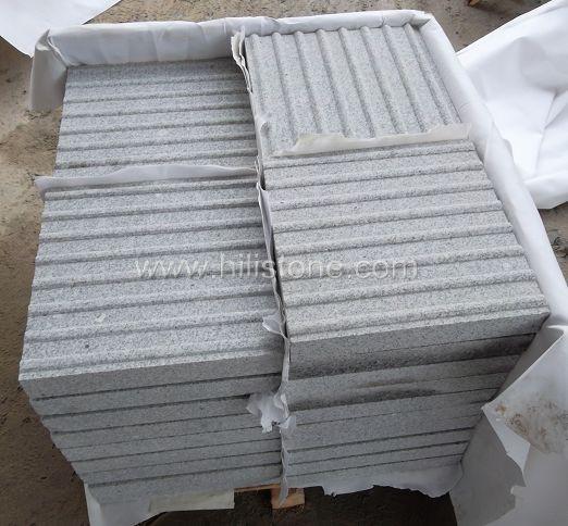 G603 Granite Sandblasted Tactile Paving-Hazard