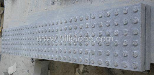 G654 Granite Flamed Tactile Paving-Blister