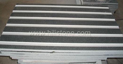 G654 Granite Polished Tactile Paving-Cycleway