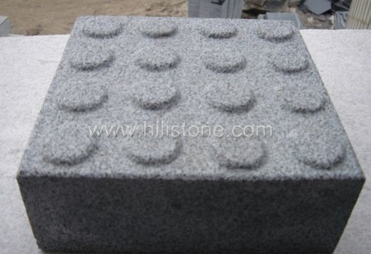 G654 Granite Sandblasted Tactile Paving-Blister