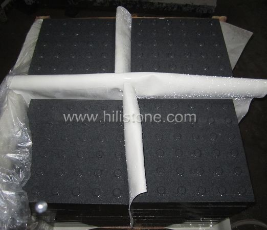 G654 Granite Sandblasted Tactile Paving-Blister