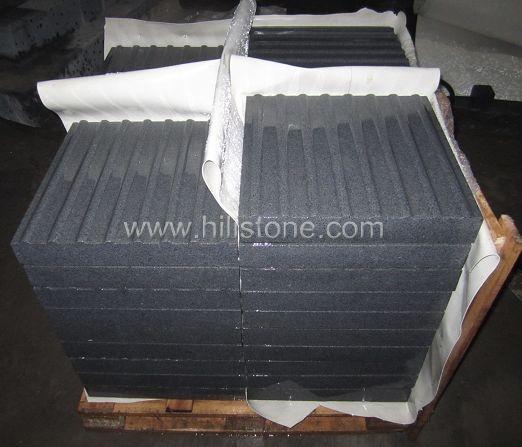 G654 Granite Sandblasted Tactile Paving-Hazard
