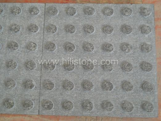 G684 Black Flamed Tactile Paving-Blister