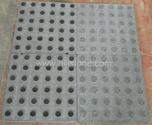 G684 Black Polished Tactile Paving-Blister