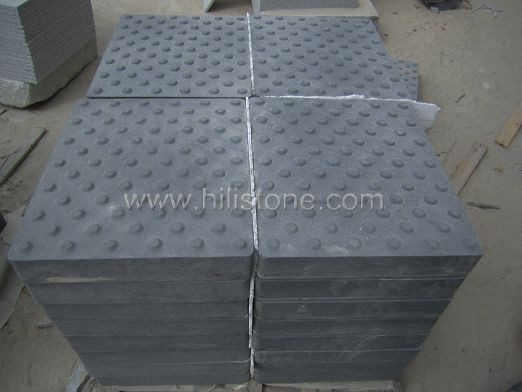 G684 Black Sandblasted Tactile Paving-Blister