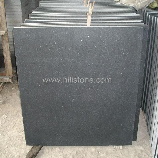 G684 Black Honed Tiles