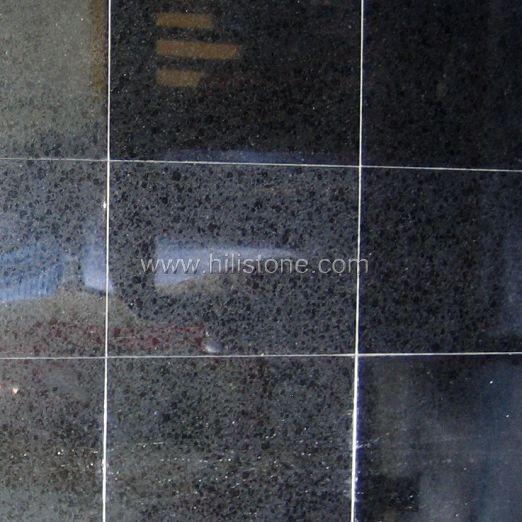 G684 Black Polished Tiles