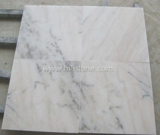 Guangxi White Marble Polished Tiles