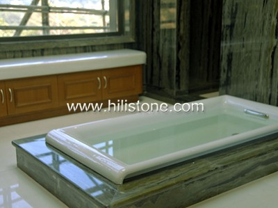 Idyllic Scenery Marble Polished Tiles