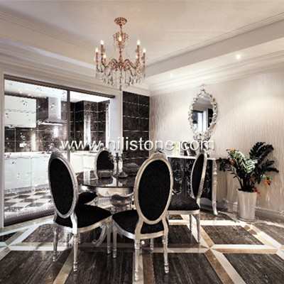Italy Silver Travertine Polished Tiles