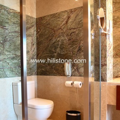 Tropical Rainforest Green Marble Polished Tiles