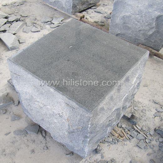 G654 Blue Black Polished Bench Stone Kerbs