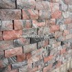 China Multicolor Red Granite Wall Stone