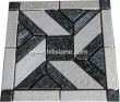 Black + White Quartzite Mosaic