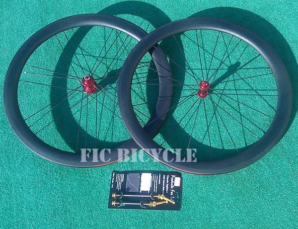 G3 wheel 18/21h C50 3k matte red hub