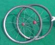 12k matte 38mm clincher wheels with basalt break