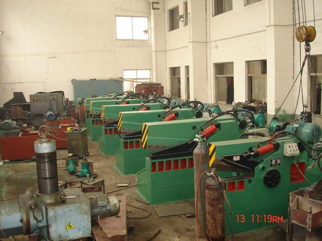hydraulic metal shearer