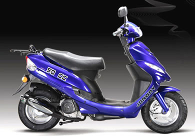 YY50QT-6 Motor Scooter