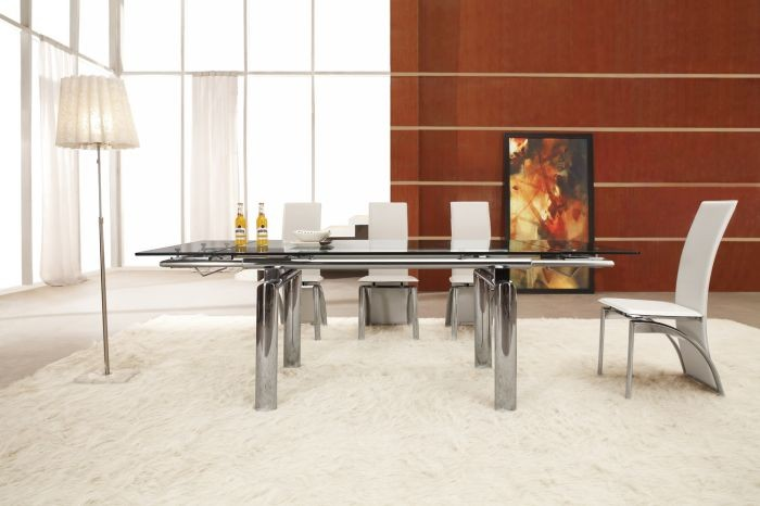 adjustable expension modern dining tables L808A