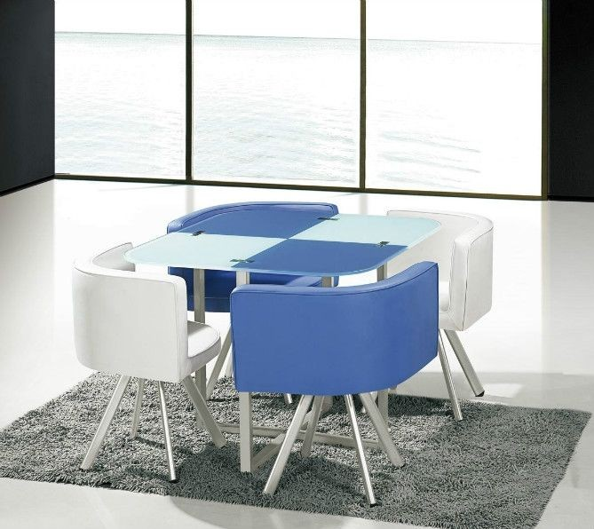 Low Price Glass Dining Table Set 605