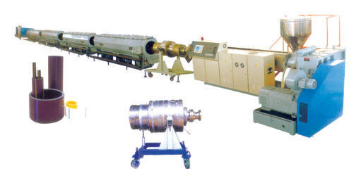 Large diameter hdpe pipe extrusion line manufacturers
