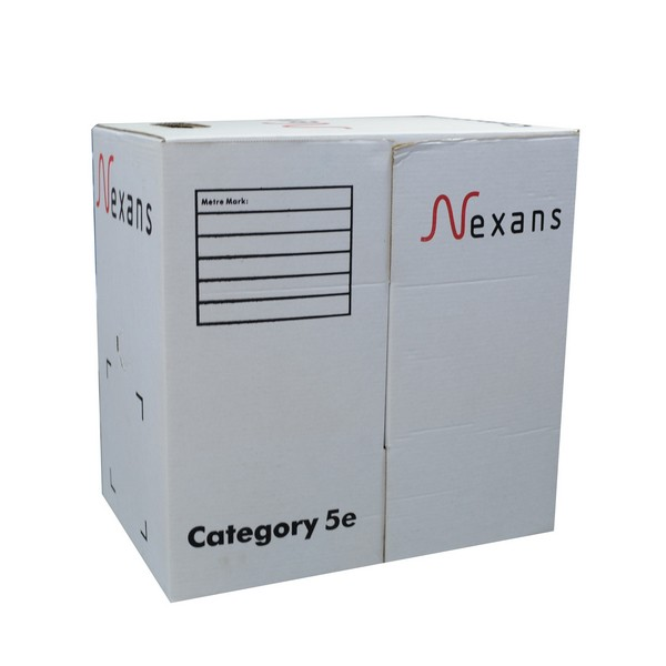 Nexans cat5e ethernet cable,24AWG LAN Cable