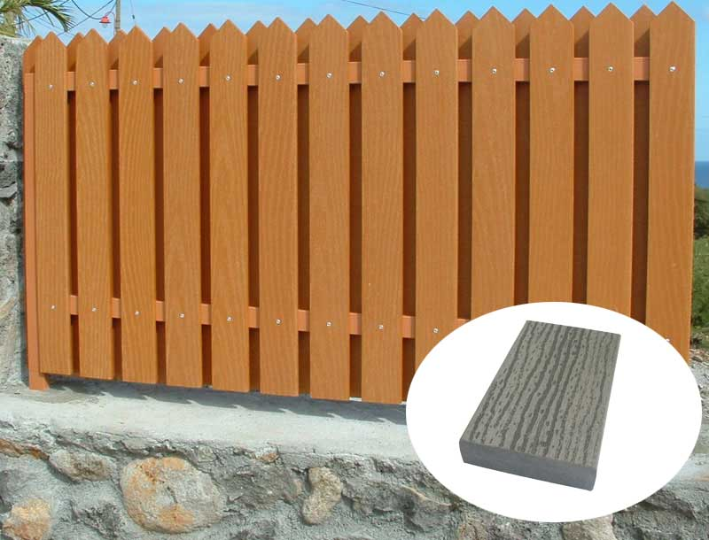 Fiberglass Fencing Products : Simple composite fencing manufacturers