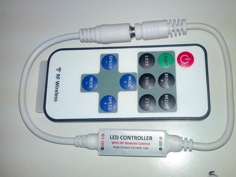 Mini RF LED Dimmer