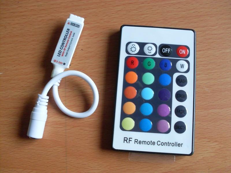 Mini RGB RF LED Controller