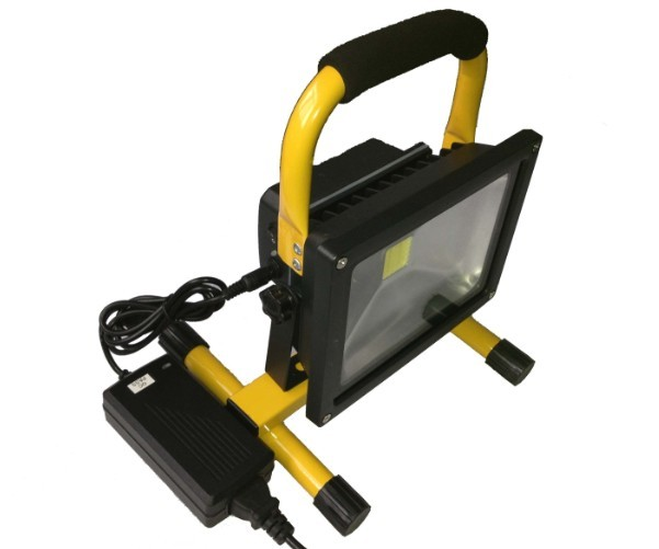 Rechargeable LED Flood Light, 20W, 4400mAh Battery