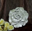 rose of pottery decoration for gift
