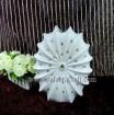 Fashion vase with decorative diamond