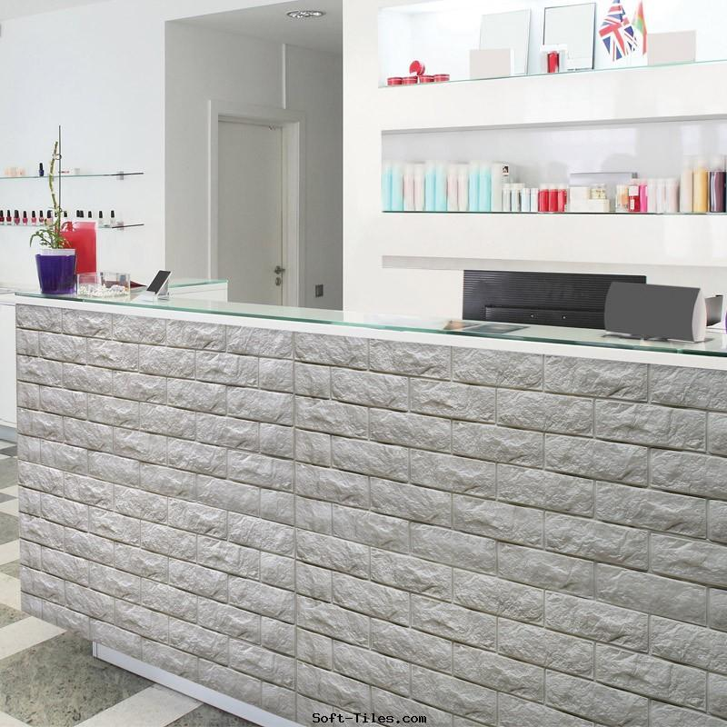 3D wall panel PE foam wallpaper