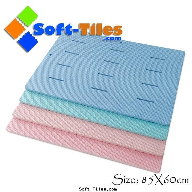 Anti slip bath Floor Mat 85*60cm 20mm thick