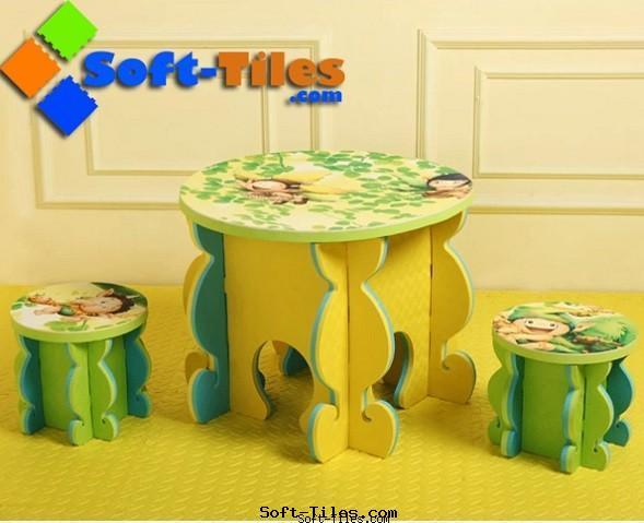 Desk for kids EVA foam material