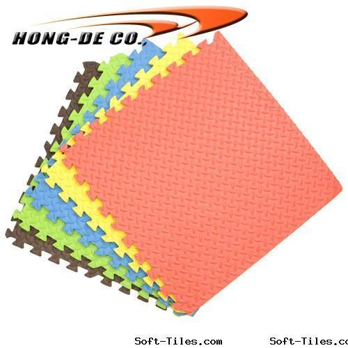 Anti-slip Multi-colour Foam Mat ,water-proof