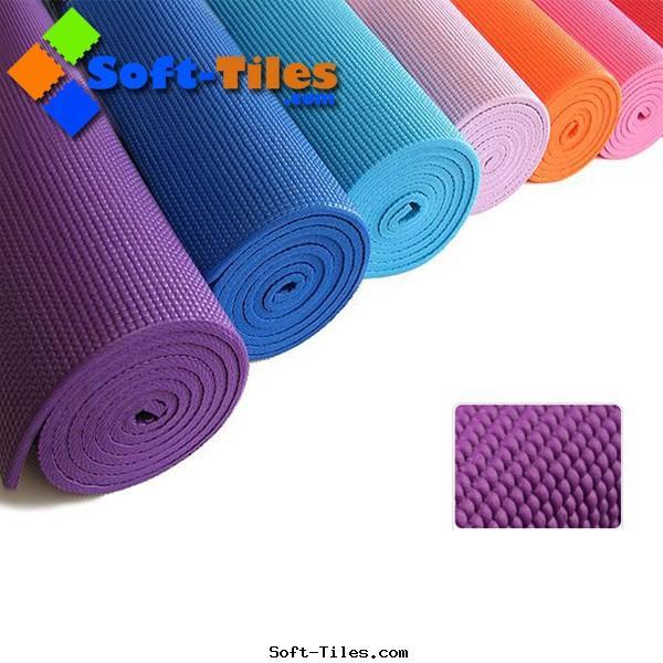 Cheap PVC yoga mat 173*61CM
