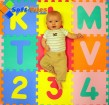 Baby Alphabet mat alphabet in numbers