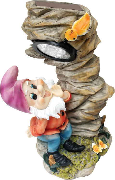 Garden Gnome solar light STL-2009